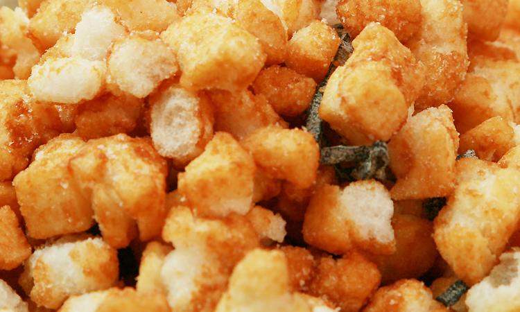 大袋海鮮揚げ餅(昆布)